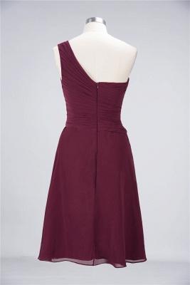 Elegant Princess Chiffon One-Shoulder Sweetheart Sleeveless Knee-Length Bridesmaid Dress with Ruffles_36