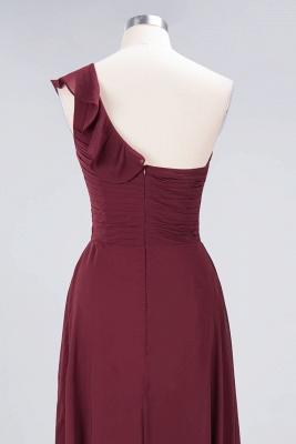 Elegant Princess Chiffon One-Shoulder Sweetheart Sleeveless Floor-Length Bridesmaid Dress with Ruffles_6