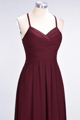 Elegant Princess Chiffon Halter V-Neck Sleeveless Floor-Length Bridesmaid Dress with Ruffles_6