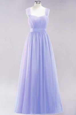 Chiffon Sweetheart Straps Sleeves Floor-Length Bridesmaid Dresses with Ruffles_21