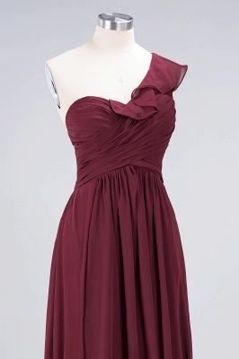 Elegant Princess Chiffon One-Shoulder Sweetheart Sleeveless Floor-Length Bridesmaid Dress with Ruffles_5