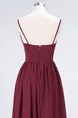 Elegant Princess Chiffon Appliques Spaghetti-Straps Deep-V-Neck Sleeveless Floor-Length Bridesmaid Dress with Ruffles_6