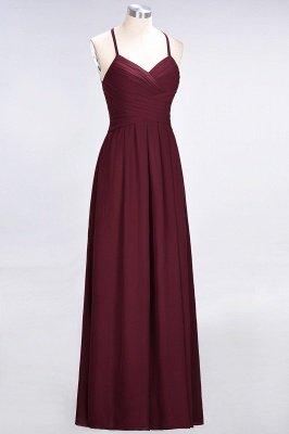 Elegant Princess Chiffon Halter V-Neck Sleeveless Floor-Length Bridesmaid Dress with Ruffles_4