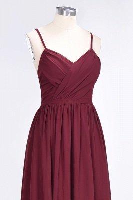 Elegant Princess Chiffon Spaghetti-Straps V-Neck Sleeveless Floor-Length Bridesmaid Dress with Ruffles_5