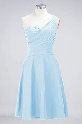 Elegant Princess Chiffon One-Shoulder Sweetheart Sleeveless Knee-Length Bridesmaid Dress with Ruffles_22