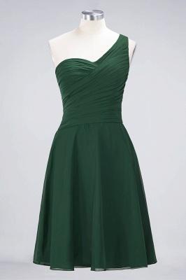 Elegant Princess Chiffon One-Shoulder Sweetheart Sleeveless Knee-Length Bridesmaid Dress with Ruffles_30
