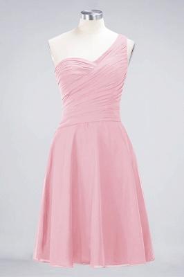 Elegant Princess Chiffon One-Shoulder Sweetheart Sleeveless Knee-Length Bridesmaid Dress with Ruffles_4