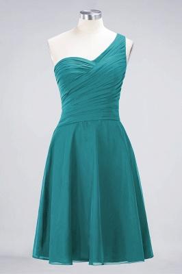 Elegant Princess Chiffon One-Shoulder Sweetheart Sleeveless Knee-Length Bridesmaid Dress with Ruffles_31