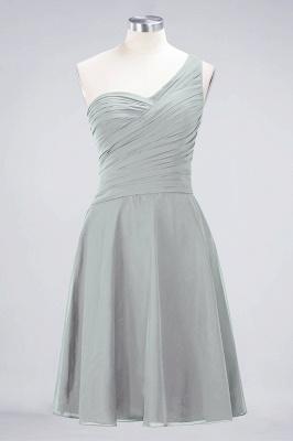 Elegant Princess Chiffon One-Shoulder Sweetheart Sleeveless Knee-Length Bridesmaid Dress with Ruffles_29