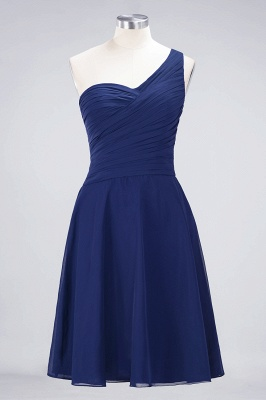 Elegant Princess Chiffon One-Shoulder Sweetheart Sleeveless Knee-Length Bridesmaid Dress with Ruffles_25