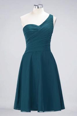 Elegant Princess Chiffon One-Shoulder Sweetheart Sleeveless Knee-Length Bridesmaid Dress with Ruffles_26