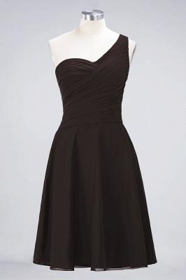 Elegant Princess Chiffon One-Shoulder Sweetheart Sleeveless Knee-Length Bridesmaid Dress with Ruffles_11