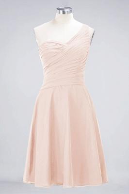 Elegant Princess Chiffon One-Shoulder Sweetheart Sleeveless Knee-Length Bridesmaid Dress with Ruffles_5