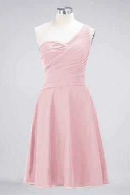 Elegant Princess Chiffon One-Shoulder Sweetheart Sleeveless Knee-Length Bridesmaid Dress with Ruffles_3