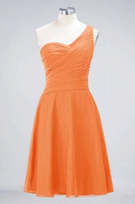 Elegant Princess Chiffon One-Shoulder Sweetheart Sleeveless Knee-Length Bridesmaid Dress with Ruffles_15