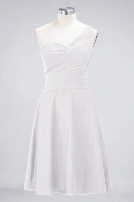 Elegant Princess Chiffon One-Shoulder Sweetheart Sleeveless Knee-Length Bridesmaid Dress with Ruffles_1
