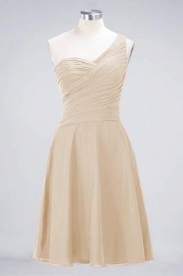 Elegant Princess Chiffon One-Shoulder Sweetheart Sleeveless Knee-Length Bridesmaid Dress with Ruffles_14