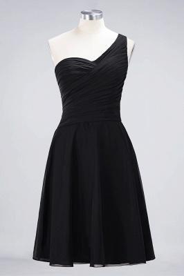 Elegant Princess Chiffon One-Shoulder Sweetheart Sleeveless Knee-Length Bridesmaid Dress with Ruffles_28