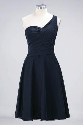 Elegant Princess Chiffon One-Shoulder Sweetheart Sleeveless Knee-Length Bridesmaid Dress with Ruffles_27