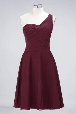 Elegant Princess Chiffon One-Shoulder Sweetheart Sleeveless Knee-Length Bridesmaid Dress with Ruffles_10