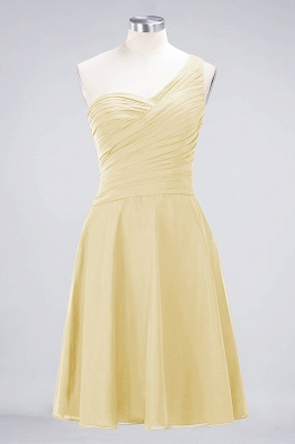 Elegant Princess Chiffon One-Shoulder Sweetheart Sleeveless Knee-Length Bridesmaid Dress with Ruffles_17