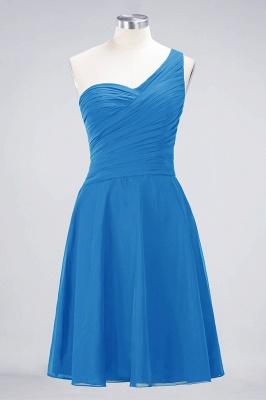 Elegant Princess Chiffon One-Shoulder Sweetheart Sleeveless Knee-Length Bridesmaid Dress with Ruffles_24