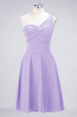 Elegant Princess Chiffon One-Shoulder Sweetheart Sleeveless Knee-Length Bridesmaid Dress with Ruffles_20