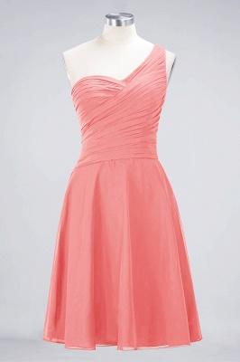 Elegant Princess Chiffon One-Shoulder Sweetheart Sleeveless Knee-Length Bridesmaid Dress with Ruffles_7