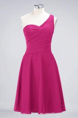 Elegant Princess Chiffon One-Shoulder Sweetheart Sleeveless Knee-Length Bridesmaid Dress with Ruffles_9