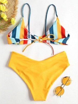 Bikini à jambes hautes et rayures_4
