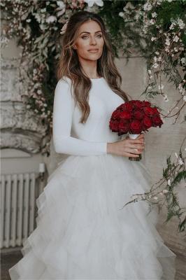 Elegant Appliques Cheap Wedding Dresses | Side Slit  Mermaid Sleeveless Flowers Bridal Gowns_2