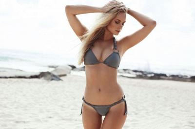 Ensemble de bikini deux pièces triangle sexy maigres maillots de bain_6