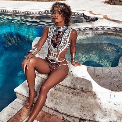 Maillots de bain bikini imprimés africains avec imprimés dashiki_5