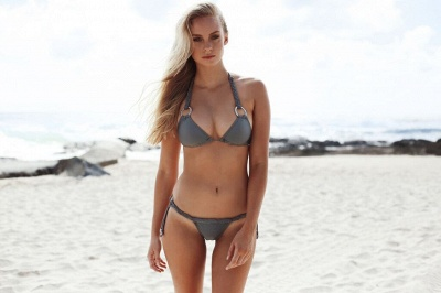 Ensemble de bikini deux pièces triangle sexy maigres maillots de bain_5