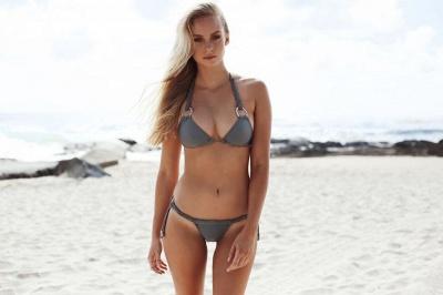 Ensemble de bikini deux pièces triangle sexy maigres maillots de bain_8