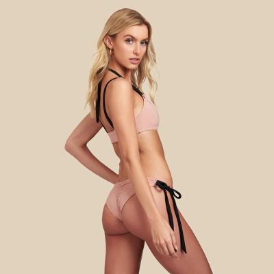 Black Bandage Modern Two Piece Sexy Bikini Swimwear_6