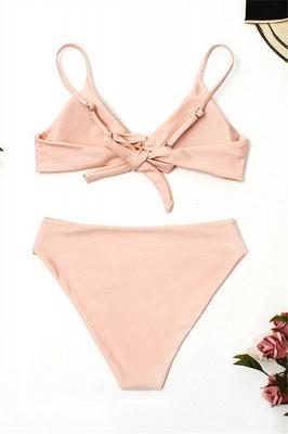 Bikinis Deux-Pièces Vintage Nude Pink Nude Bretelles_3