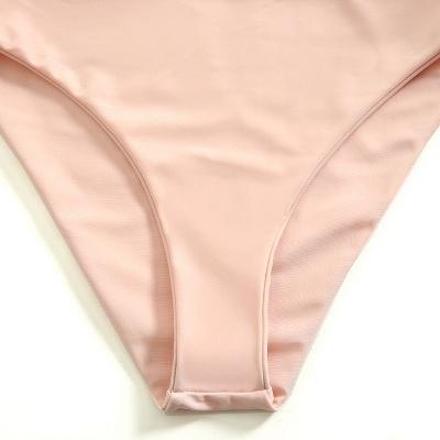 Bikinis Deux-Pièces Vintage Nude Pink Nude Bretelles_6