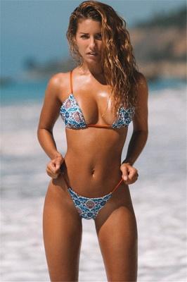 Sexy Push Up Bikini Prints Mini Maillots de bain Deux-Pièces_1
