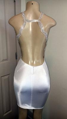 Glamorous Crystal Halter Sleeveless Appliques Open Back Prom Dresses Cheap_2