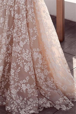 Elegant Lace Appliques Wedding Dresses | Long Sleeve Cheap Bridal Gowns_3