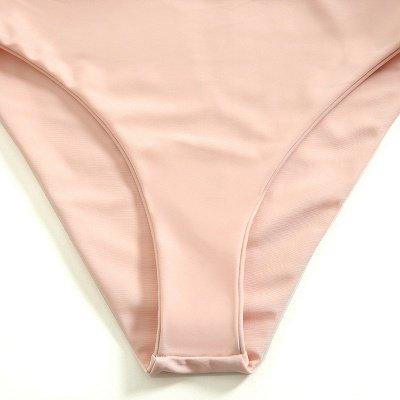 Vintage Nude Pink Knot Straps Two Piece Sexy Bikinis_6