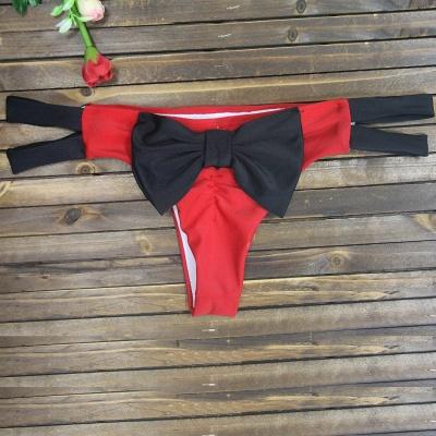 Bowknot Swims Brief Bikini Bottom_3