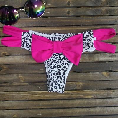 Bowknot Swims Brief Bikini Bottom_4