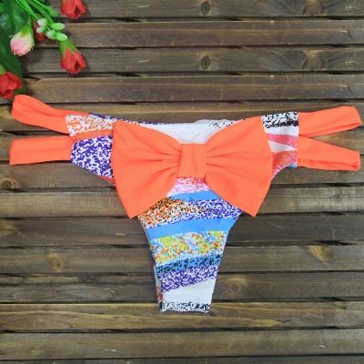 Bowknot Swims Brief Bikini Bottom_5