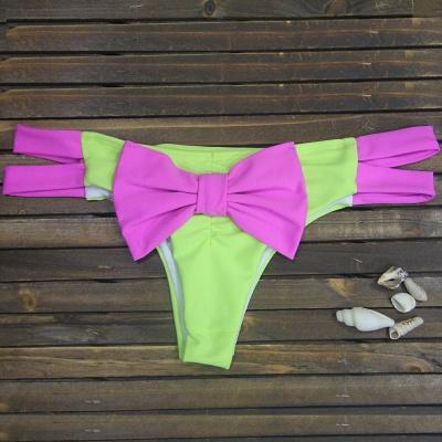 Bowknot Swims Brief Bikini Bottom_2