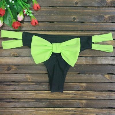 Bowknot Swims Brief Bikini Bottom_10