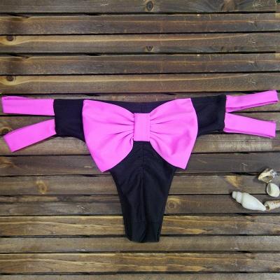 Bowknot Swims Brief Bikini Bottom_1