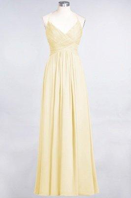 Elegant Princess Chiffon Spaghetti-Straps V-Neck Sleeveless Floor-Length Bridesmaid Dress with Ruffles_17
