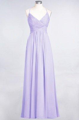 Elegant Princess Chiffon Spaghetti-Straps V-Neck Sleeveless Floor-Length Bridesmaid Dress with Ruffles_20